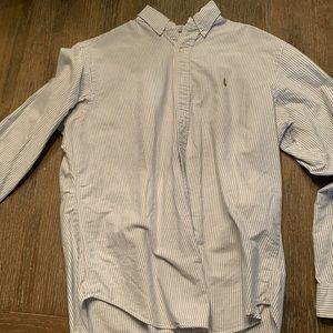 Lg long sleeve button down Ralph Lauren